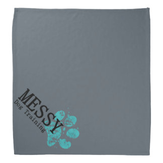 MESSY Dog Training Bandana