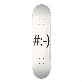 messy hair.ai skateboard deck