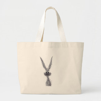 MESSY HARE LARGE TOTE BAG