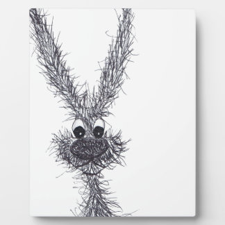 MESSY HARE PLAQUE