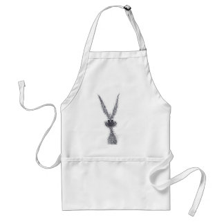 MESSY HARE STANDARD APRON