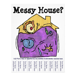 Messy House? Flyer