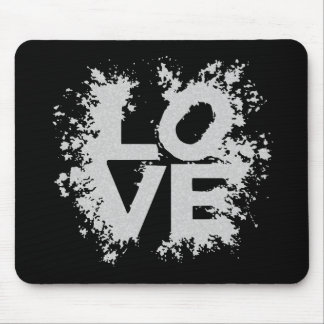 Messy Love Mouse Pad