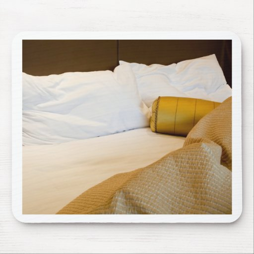 Messy luxurious bed mousepads