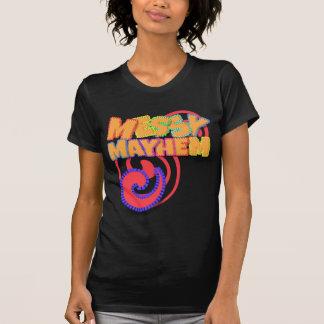 Messy Mayhem Orange and Berry T-Shirt