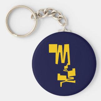 MESSY MEEP Keychain