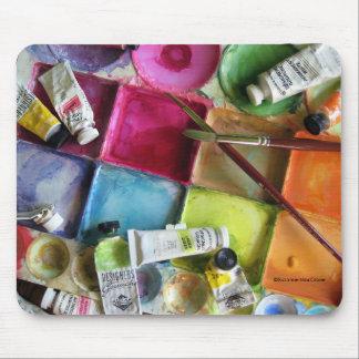 Messy Palette ~ Mousepad