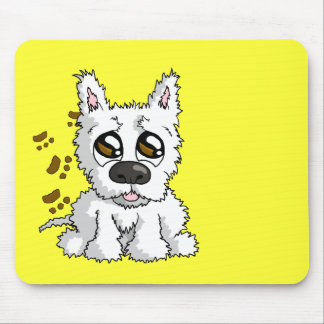 Messy Pup Mousepads