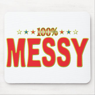 Messy Star Tag Mouse Pads