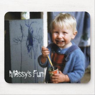 Messy's Fun Mousepad