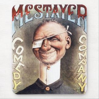 Mestayer Comedy Company Mouse Pad