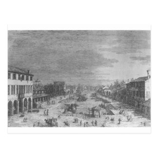 Mestre by Canaletto Postcard