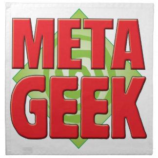 Meta Geek v2 Printed Napkin