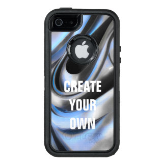 Metal Abstract OtterBox iPhone 5/5s/SE Case