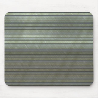 metal art stripes mouse mat