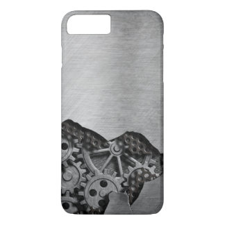 Metal background with mechanical damage iPhone 8 plus/7 plus case