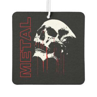 METAL BLOOD SKULL AIR FRESHENER