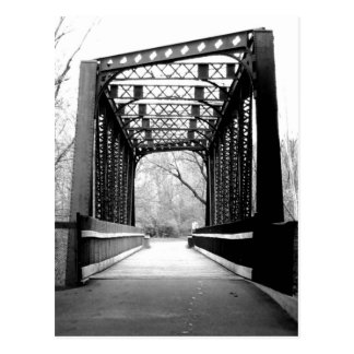 Metal Bridge Postcard