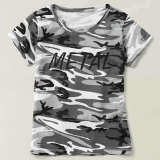METAL Camo T T-Shirt