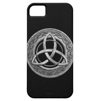 Metal Celtic Trinity Knot Barely There iPhone 5 Case
