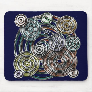 Metal Circle Mouse Pad
