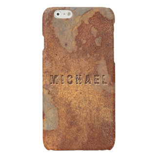 Metal Corroded - Personalized Rusty Metallic Look iPhone 6 Plus Case