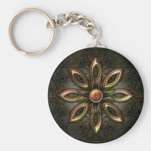 Metal Design Keychain