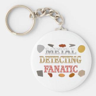 Metal Detecting Fanatic Key Ring