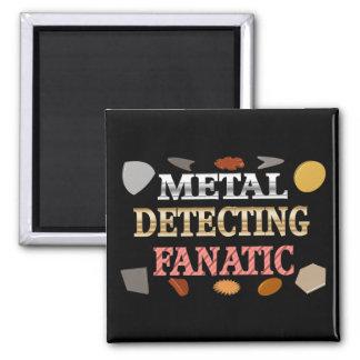 Metal Detecting Fanatic Refrigerator Magnets