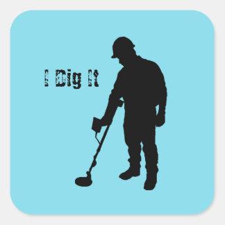 Metal Detecting - I Dig It - Sticker
