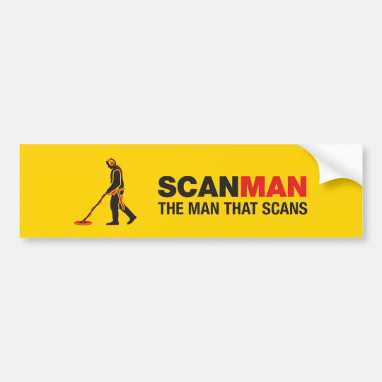 Metal Detecting sticker Bumper Sticker