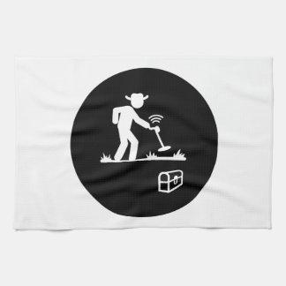 Metal Detecting Tea Towel