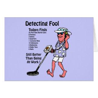 Metal Detectors Card