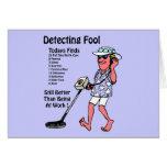 Metal Detectors Greeting Cards
