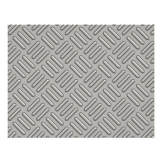 Metal Diamond Plate Patterned Custom Flyer