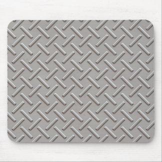 metal diamonds mouse pad