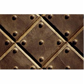 Metal door pattern Photo Photo Sculptures