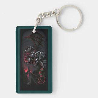 """Metal Dragon"" Original Artwork, Keyring"