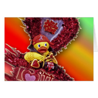 Metal Ducky Tour of Love Greeting Card