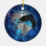 Metal Earth Globe Christmas Tree Ornament