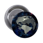 Metal Earth Globe Pinback Buttons