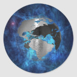 Metal Earth Globe Stickers