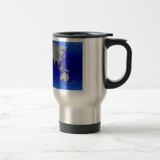 Metal Earth Map Coffee Mug