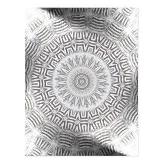 METAL Element Kaleido Pattern Postcard