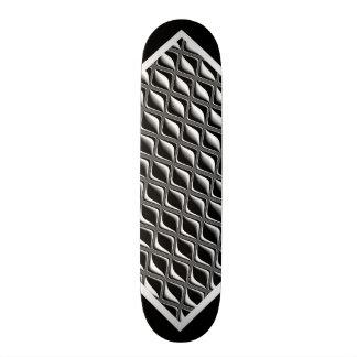 Metal Eye Black Illusion Customizable Deck w2 Skateboard