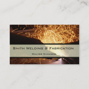 Metal business cards zazzle uk metal fabrication and welding business card reheart Image collections