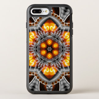 Metal & Flame Mandala OtterBox Symmetry iPhone 8 Plus/7 Plus Case