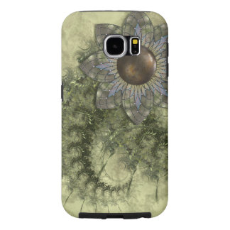 Metal Flower Samsung Galaxy S6 Cases