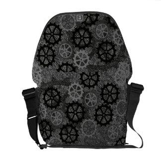Metal Gears Courier Bag