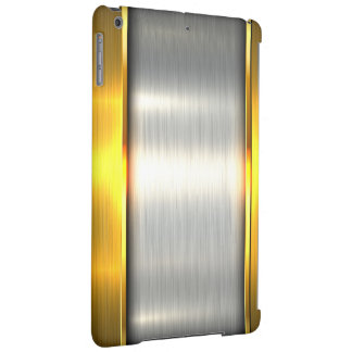 Metal gold aluminium material textures